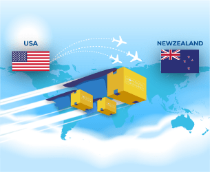 ship from usa to Newzealand