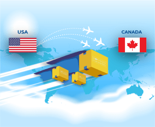 shipping from usa to canada