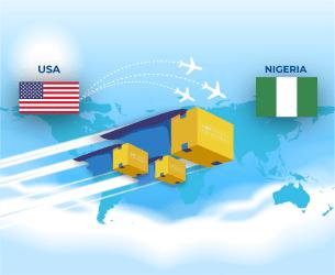 ship from usa to nigeria
