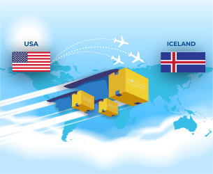 Ship your products from USA to ICELAND with My Package Forwarder