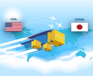 package forwarding services from usa to japan